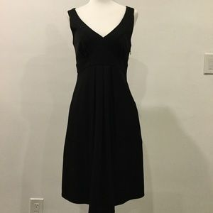 Tailored black dress